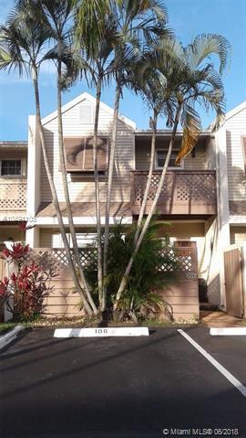 106 E Hemingway Cir #43, Margate, FL 33063 (MLS #A10491105) :: Green Realty Properties