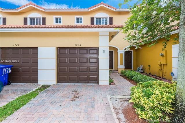1726 SW 81st Ter #1726, North Lauderdale, FL 33068 (MLS #A10493093) :: The Teri Arbogast Team at Keller Williams Partners SW