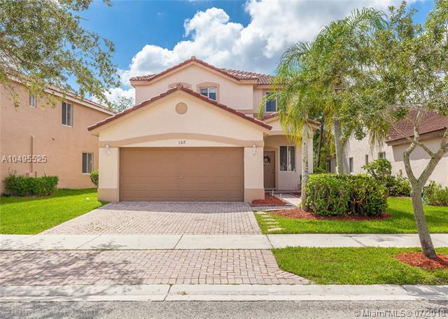 1317 Majesty Ter, Weston, FL 33327 (MLS #A10495525) :: The Teri Arbogast Team at Keller Williams Partners SW