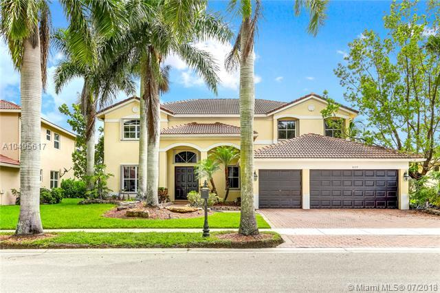 809 Regal Cove Road, Weston, FL 33327 (MLS #A10495617) :: The Riley Smith Group