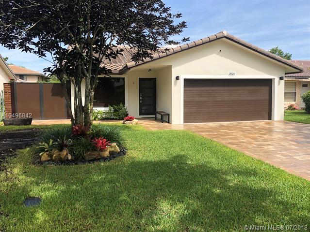 1820 NW 93 TERR, Coral Springs, FL 33071 (MLS #A10496842) :: The Riley Smith Group