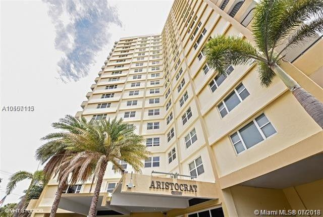 1200 Hibiscus Ave #1102, Pompano Beach, FL 33062 (MLS #A10500115) :: Green Realty Properties