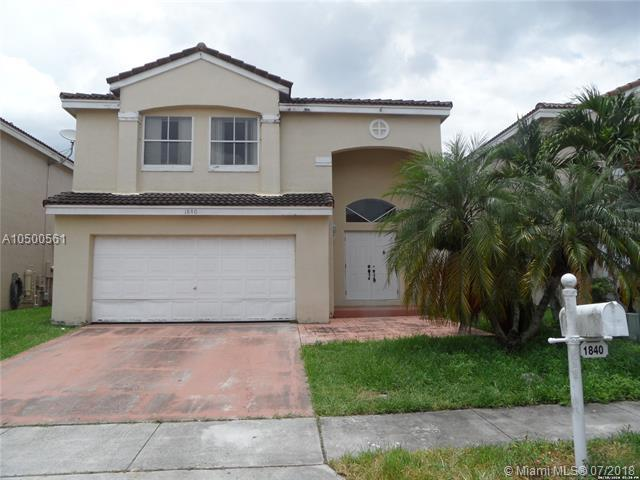 1840 Vista Way, Margate, FL 33063 (MLS #A10500561) :: The Riley Smith Group