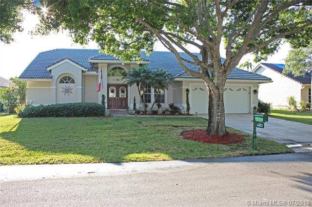 4322 NW 62nd Ave, Coral Springs, FL 33067 (MLS #A10500867) :: The Teri Arbogast Team at Keller Williams Partners SW