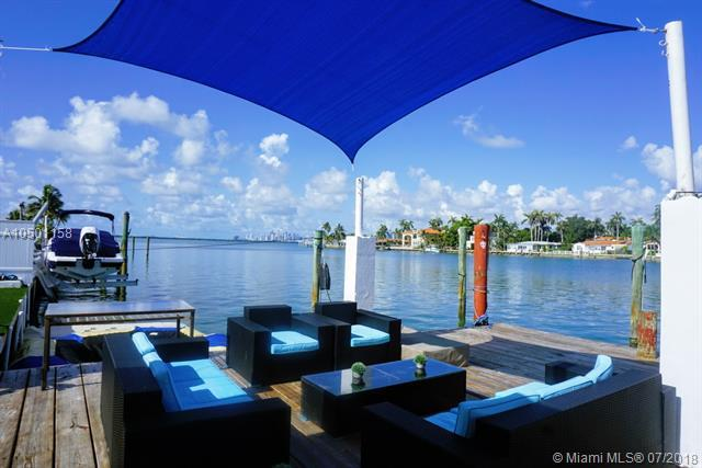 7548 W Treasure Drive, North Bay Village, FL 33141 (MLS #A10501158) :: Green Realty Properties