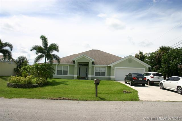 956 SW Cleary Ter, Port St. Lucie, FL 34953 (MLS #A10501610) :: Green Realty Properties