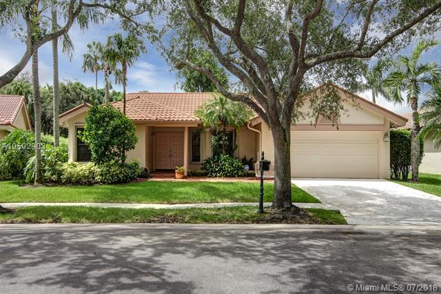 1657 East Lake Way, Weston, FL 33326 (MLS #A10502903) :: Green Realty Properties