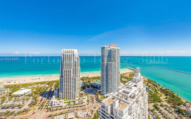 300 S Pointe #3806, Miami Beach, FL 33139 (MLS #A10504661) :: Calibre International Realty