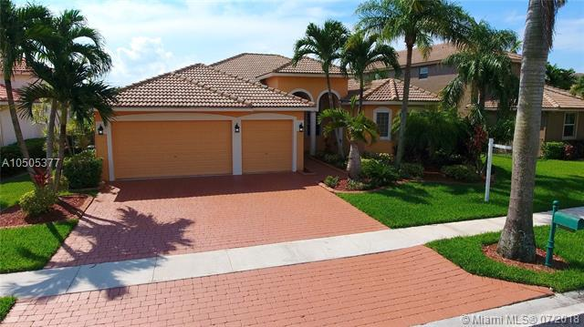 3261 SW 189th Ave, Miramar, FL 33029 (MLS #A10505377) :: RE/MAX Presidential Real Estate Group