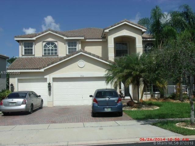 2066 SW 153rd Way, Miramar, FL 33027 (MLS #A10505890) :: RE/MAX Presidential Real Estate Group