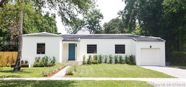 22 NW 105th St, Miami Shores, FL 33150 (MLS #A10506814) :: The Teri Arbogast Team at Keller Williams Partners SW