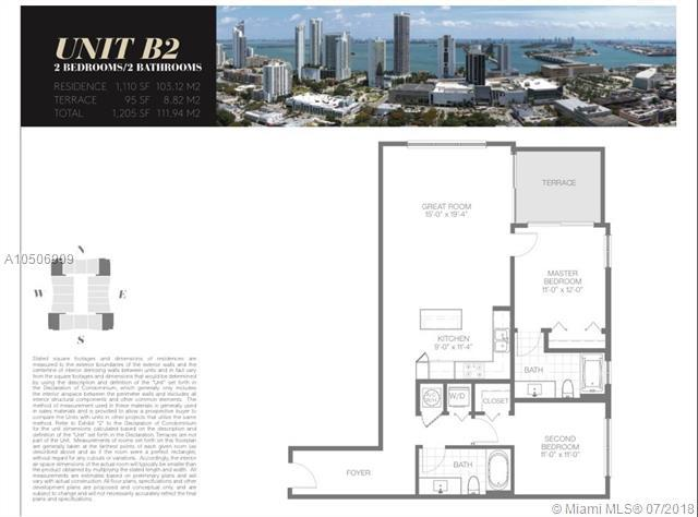 1600 NE 1 Ave #1616, Miami, FL 33132 (MLS #A10506909) :: The Erice Group
