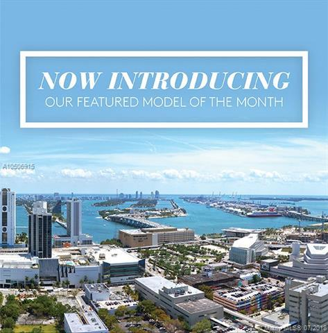 1600 NE 1st Ave #3505, Miami, FL 33132 (MLS #A10506915) :: Green Realty Properties