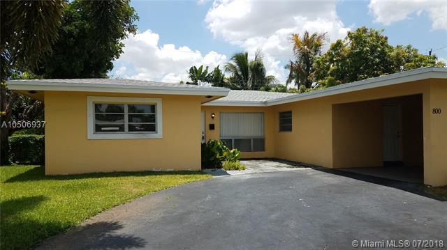 800 NW 29th Ct, Wilton Manors, FL 33311 (MLS #A10506937) :: Green Realty Properties