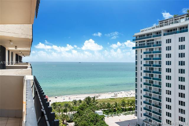 2401 Collins Ave #1607, Miami Beach, FL 33140 (MLS #A10507055) :: The Teri Arbogast Team at Keller Williams Partners SW