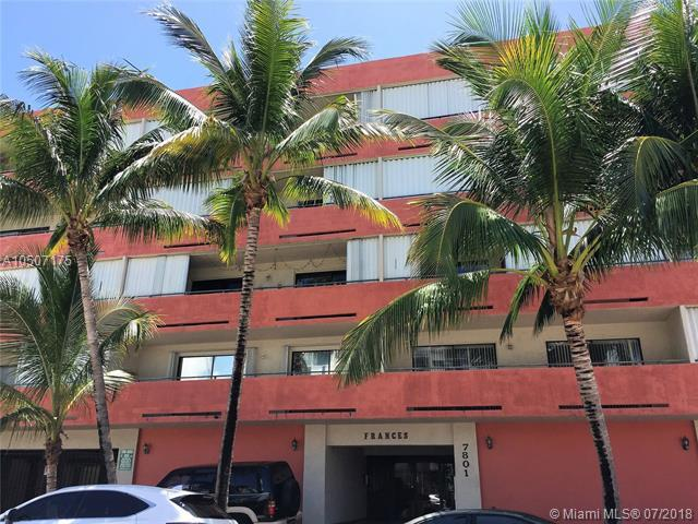 7801 Abbott Ave #405, Miami Beach, FL 33141 (MLS #A10507175) :: The Teri Arbogast Team at Keller Williams Partners SW