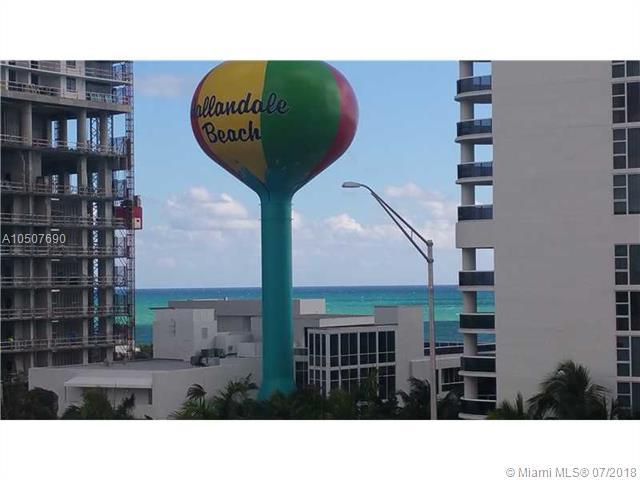 1825 S Ocean Dr #701, Hallandale, FL 33009 (MLS #A10507690) :: The Chenore Real Estate Group