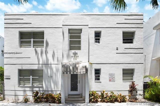 928 Jefferson Ave #3, Miami Beach, FL 33139 (MLS #A10507704) :: The Teri Arbogast Team at Keller Williams Partners SW