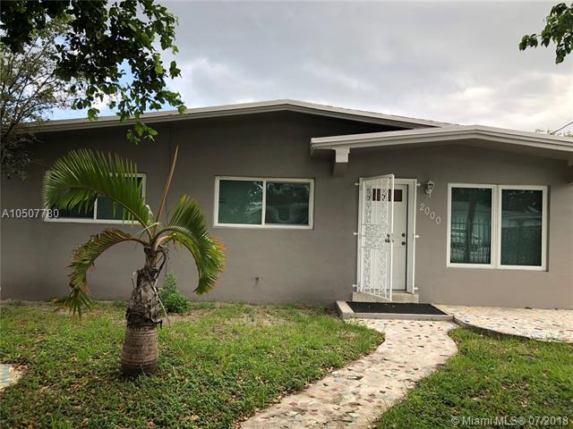 2000 NW 152nd Ter, Miami Gardens, FL 33054 (MLS #A10507780) :: The Chenore Real Estate Group