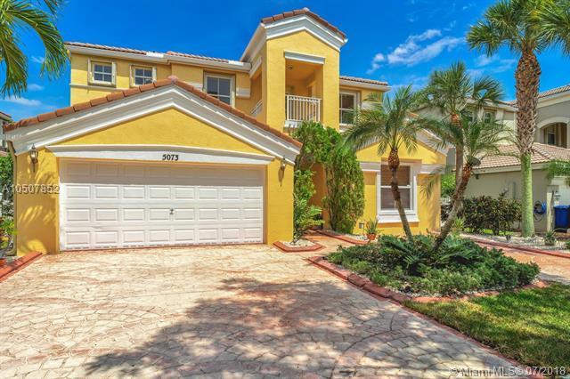 5073 SW 163rd Ave, Miramar, FL 33027 (MLS #A10507852) :: Carole Smith Real Estate Team