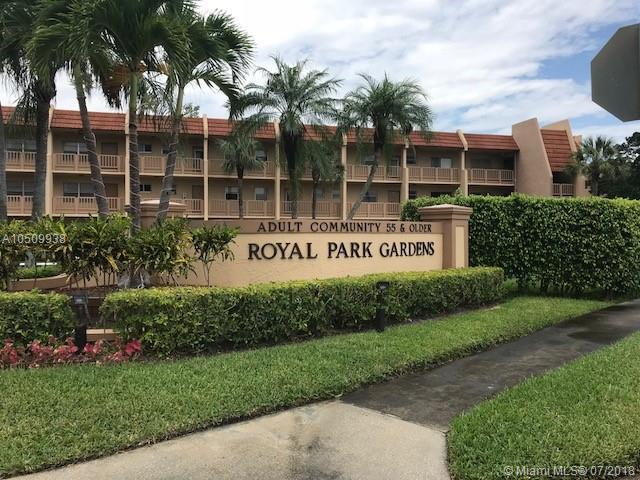6800 Royal Palm Blvd 208F, Margate, FL 33063 (MLS #A10509938) :: Laurie Finkelstein Reader Team