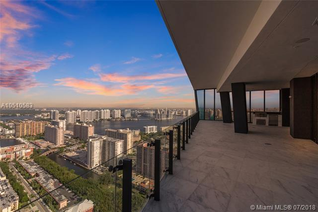 17141 Collins Ave #3802, Sunny Isles Beach, FL 33160 (MLS #A10510583) :: Green Realty Properties