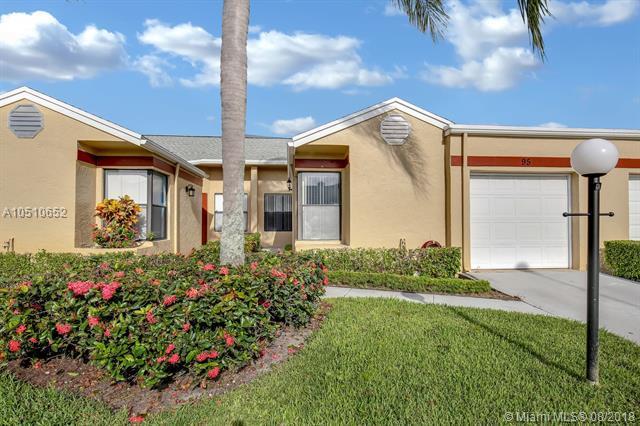 4579 Amherst Cir #95, West Palm Beach, FL 33417 (MLS #A10510652) :: Green Realty Properties