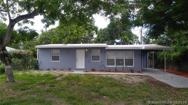 711 NE 3rd Ter, Pompano Beach, FL 33060 (MLS #A10516408) :: Green Realty Properties