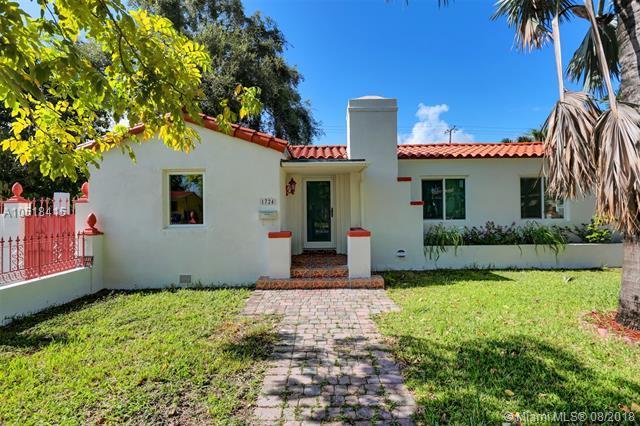 1724 SW 16th St, Miami, FL 33145 (MLS #A10518415) :: Laurie Finkelstein Reader Team