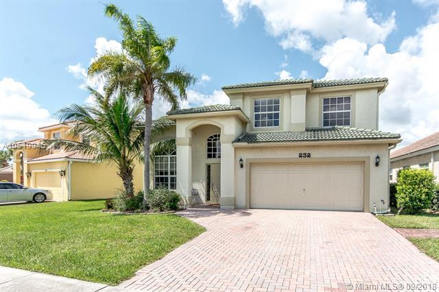 232 E Saratoga Blvd E, Royal Palm Beach, FL 33411 (MLS #A10519945) :: Hergenrother Realty Group Miami