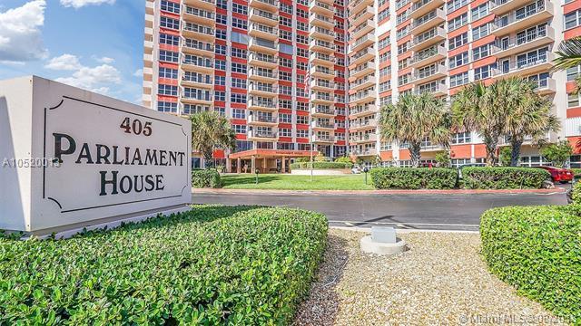 405 N Ocean Blvd #206, Pompano Beach, FL 33062 (MLS #A10520013) :: Castelli Real Estate Services