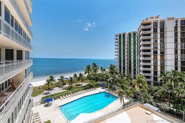 600 Grapetree Drive 7BS, Key Biscayne, FL 33149 (MLS #A10520304) :: Green Realty Properties