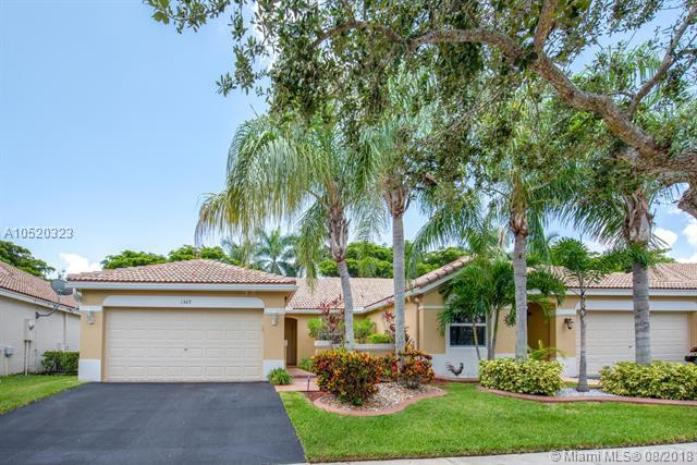 1569 Zenith Way #0, Weston, FL 33327 (MLS #A10520323) :: United Realty Group