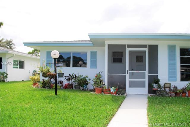 1091 NW 84th Ave A22, Plantation, FL 33322 (MLS #A10521246) :: United Realty Group