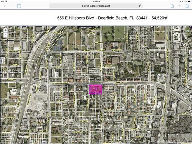 556 E Hillsboro Blvd, Deerfield Beach, FL 33441 (MLS #A10521326) :: Green Realty Properties
