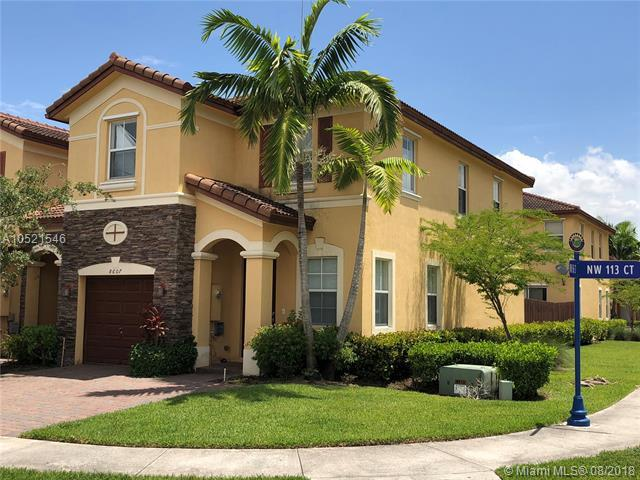 8607 NW 113th Ct #8607, Doral, FL 33178 (MLS #A10521546) :: The Teri Arbogast Team at Keller Williams Partners SW