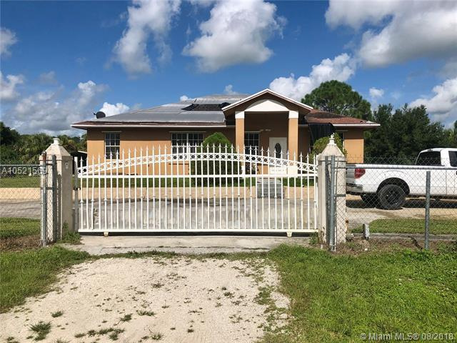 430 S Isora St, Clewiston, FL 33440 (MLS #A10521569) :: Green Realty Properties
