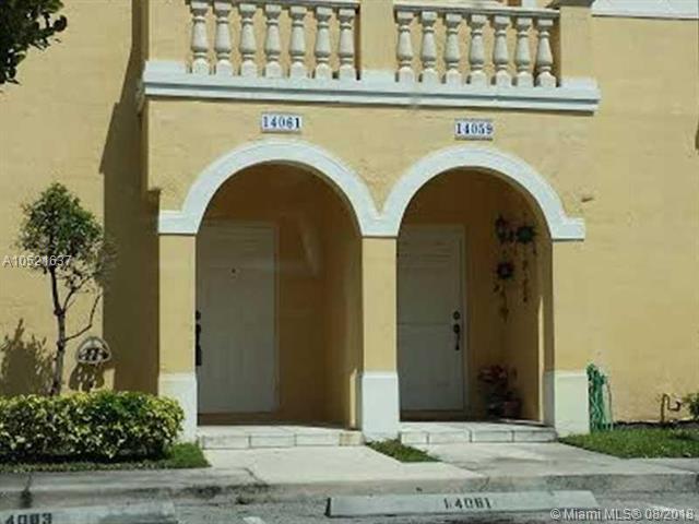 14061 SW 49th St #3, Miramar, FL 33027 (MLS #A10521637) :: The Teri Arbogast Team at Keller Williams Partners SW
