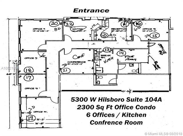 5300 W Hillsboro Blvd 104A, Coconut Creek, FL 33073 (MLS #A10521894) :: Stanley Rosen Group