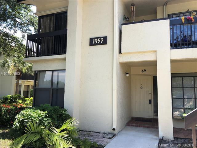1953 SW 15th St #69, Deerfield Beach, FL 33442 (MLS #A10522663) :: Green Realty Properties