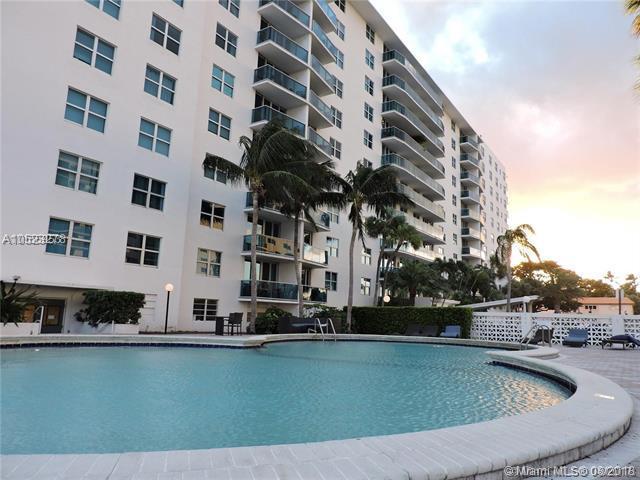 7501 E Treasure Dr 6C, North Bay Village, FL 33141 (MLS #A10523278) :: Green Realty Properties