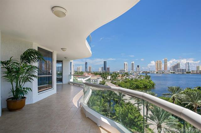 6000 Island Blvd #608, Aventura, FL 33160 (MLS #A10523558) :: Stanley Rosen Group