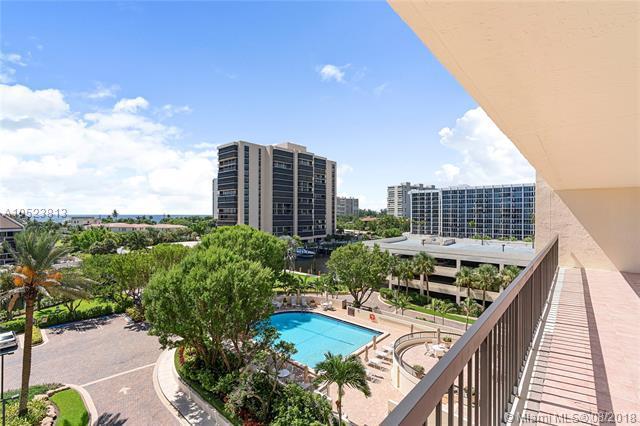 4740 S Ocean Blvd #612, Highland Beach, FL 33487 (MLS #A10523813) :: Green Realty Properties