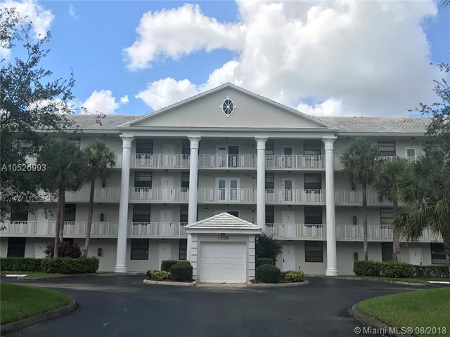 1705 Whitehall Dr #402, Davie, FL 33324 (MLS #A10526993) :: Green Realty Properties