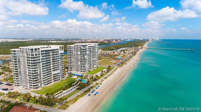 6001 N Ocean Dr #601, Hollywood, FL 33019 (MLS #A10532409) :: Green Realty Properties