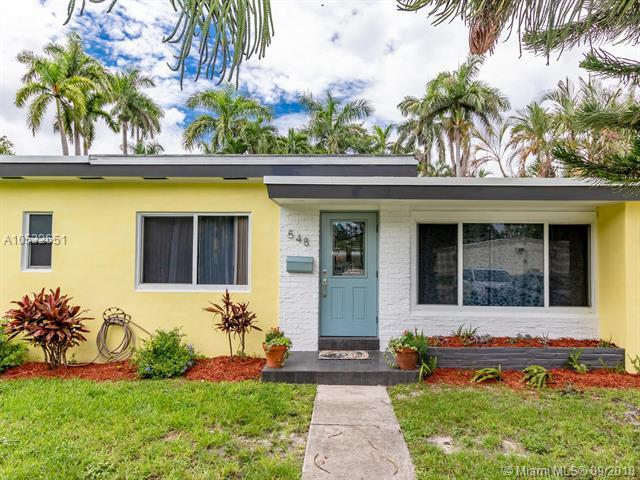 548 East Dr, Miami Springs, FL 33166 (MLS #A10532651) :: Hergenrother Realty Group Miami