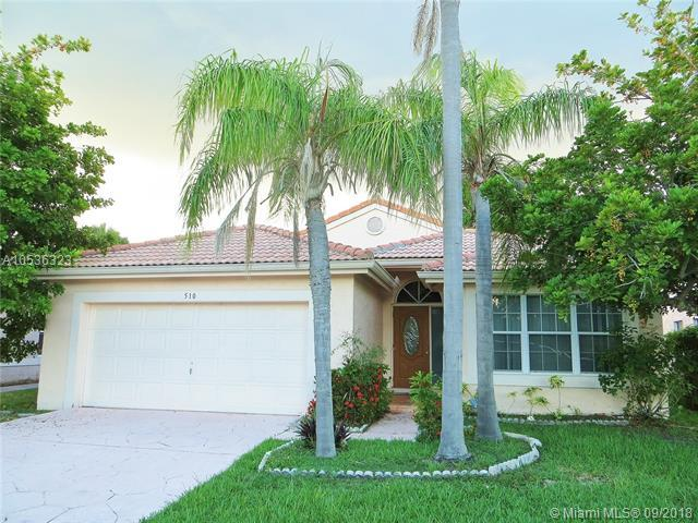 510 SW 181st Way, Pembroke Pines, FL 33029 (MLS #A10536323) :: The Teri Arbogast Team at Keller Williams Partners SW