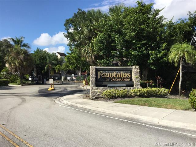 140 SW 96th Ter #103, Plantation, FL 33324 (MLS #A10536659) :: Green Realty Properties