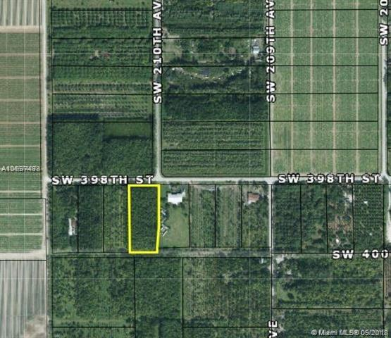 SW 212 AVE (APPROX) SW 398 ST., Miami, FL 33034 (MLS #A10537488) :: Green Realty Properties