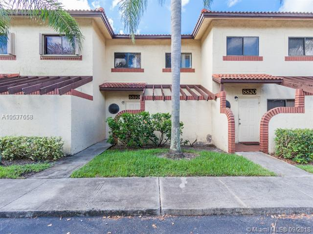 8810 NW 47th St #8810, Sunrise, FL 33351 (MLS #A10537658) :: Stanley Rosen Group
